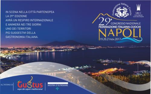 Congresso Cuochi Campania (13-15/11/2017)