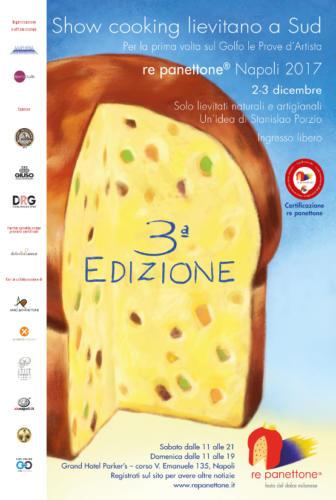 """III Edizione """"Re Panettone"""" - Napoli (2-3/12/2017)"""