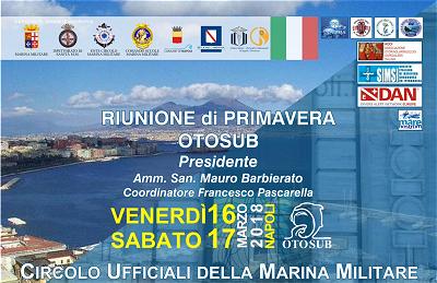 Convegno OTOSUB - Marina Militare (16-17/3/2018)