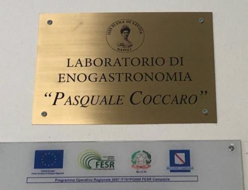 Intitolazione del Laboratorio di Enogastronomia a Pasquale Coccaro