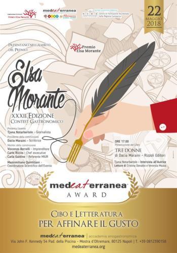 "Contest Gastronomico ""Elsa Morante"" (22/5/2018)"
