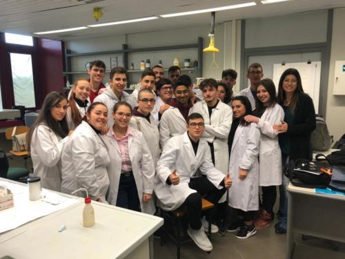 P.L.S. - Piano Lauree Scientifiche - Laboratorio di Chimica (21/2/2019)