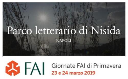Giornate FAI - Parco Letterario di Nisida (23/3/2019)