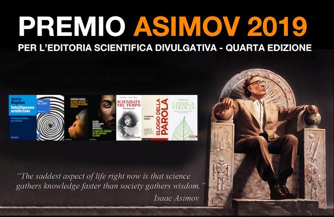 Premio Asimov 2019 (13/4/2019)
