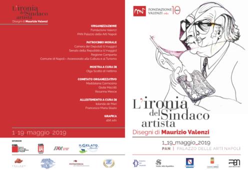 "Mostra ""L'Ironia del Sindaco artista"" - PAN (1-19/5/2019)"