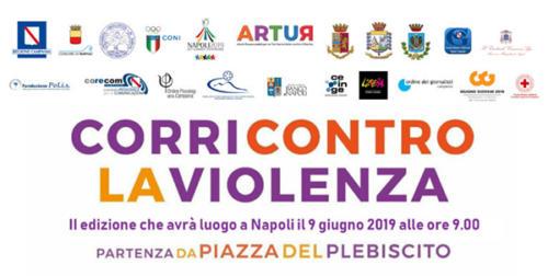 """Maratona """"Corri contro la violenza"""" (9/6/2019)"""