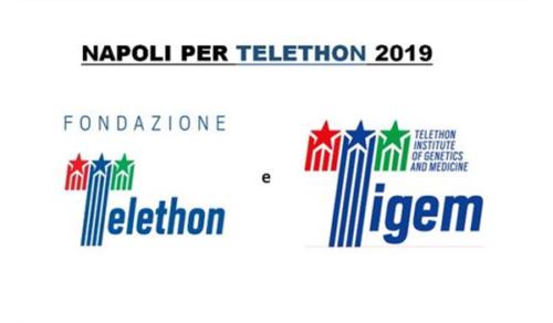 """Premio """"Napoli per Telethon 2019"""" – Ospedale dell'Annunziata  (20/11/2019)"""