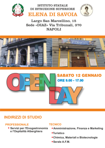Open Day (12/1/2019)