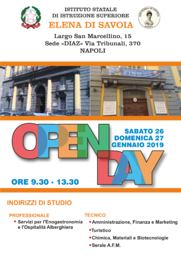 Open Day (27/1/2019)