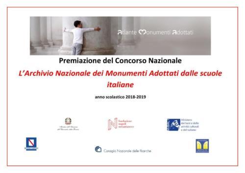"""Premiazione """"La scuola adotta un monumento"""" (14/11/2019)"""