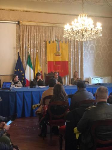 Visita didattica a Palazzo San Giacomo e Maschio Angioino (18/12/2019)