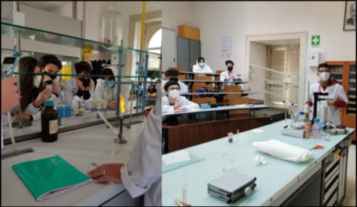 Laboratori di Fisica e Chimica 1ªA-CMB (27/4/2021)